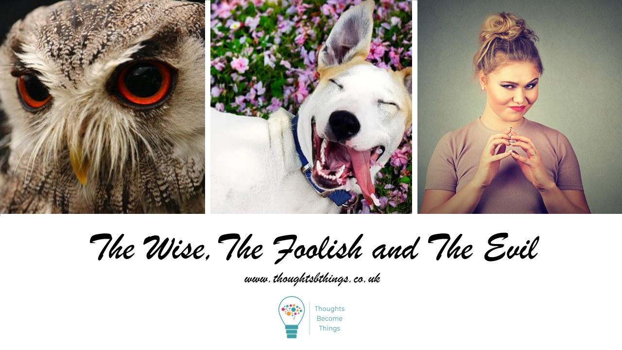 Easy conflict resolution process – The Wise, The Foolish & The Evil