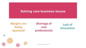 Solving care business Issues