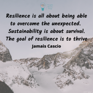 Resilience to overcome the unexpected