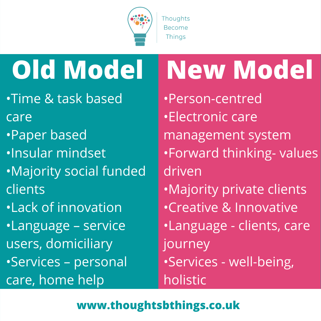 You are currently viewing Care is changing – Old v New Model