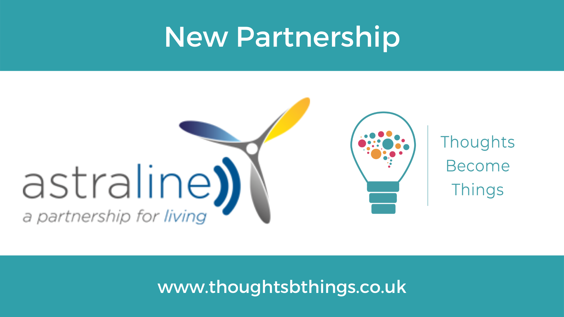 Read more about the article Another new partnership for Thoughts Become Things